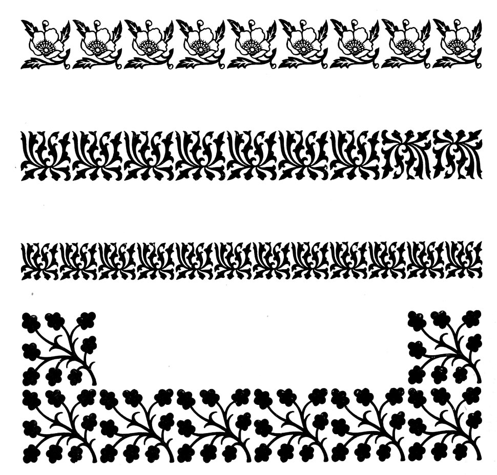 Specimens of printed borders 2
