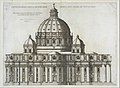 Speculum Romanae Magnificentiae- Elevation Showing the Exterior of Saint Peter's Basilica from the South as Conceived by Michelagelo (Published in 1569) MET DT203424.jpg