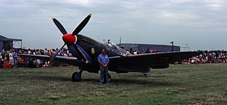 9 Squadron SAAF - Supermarine Spitfire Mk IX as flown by 9 Squadron from July 1944 to February 1945