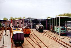 Spoorwegmuseum Utrecht, nieuwbouw achterzijde.jpg