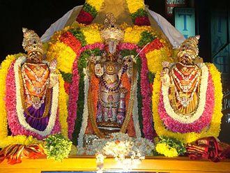 Ranganatha - The Utsava Murthy of God Ranganatha in Bangalore