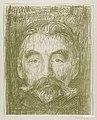 Stéphane Mallarmé (1897) by Edvard Munch. Original from The Art Institute of Chicago. Digitally enhanced by rawpixel. (50434567531).jpg