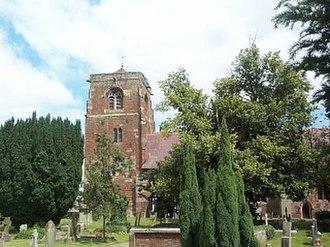 Grade I listed churches in Shropshire - Image: St. Eata, Atcham geograph.org.uk 118992