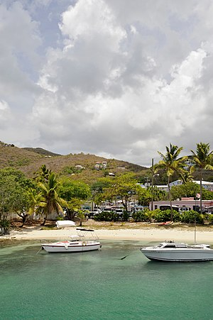 Cruz Bay, U.S. Virgin Islands - Image: St John Cruz Bay 1