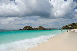 14,700 acres in St. Thomas, Virgin Islands (US) managed by the National Park Service