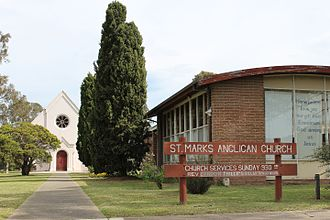 Rosedale, Victoria - Image: St Mark's Anglican Church, Rosedale