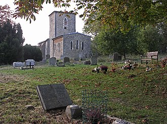 A Month in the Country (film) - St. Mary's Church, Radnage, Buckinghamshire was a major location in the film.