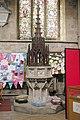 St Mary, Melton Mowbray, Leics - Font - geograph.org.uk - 385056.jpg