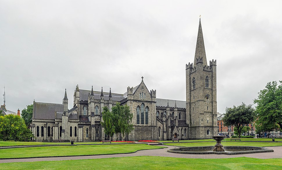 St Patrick's Cathedral Exterior, Dublin, Ireland - Diliff