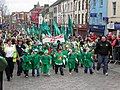 St Patrick's Day, Omagh 2010 (19) - geograph.org.uk - 1757642.jpg