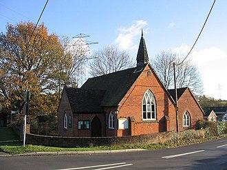 Crampmoor - Image: St Swithun's Church, Crampmoor geograph.org.uk 618309