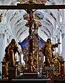 Stams Stiftskirche Stams Innen Langhaus Ost.jpg