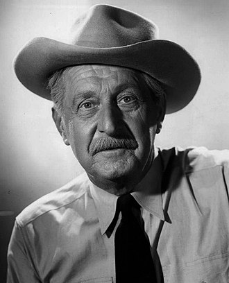 "Stanley Andrews - Andrews as the ""Old Ranger"", 1953."