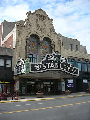 Stanley Theater (Utica, New York) - Image: Stanley Theater Utica NY Jun 07