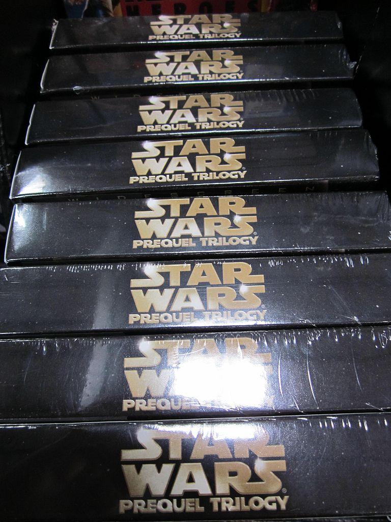 File:Star Wars Prequel Trilogy DVD box set at Costco, SSF ...