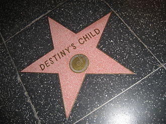 Destiny's Child - Destiny's Child's star on the Hollywood Walk of Fame.