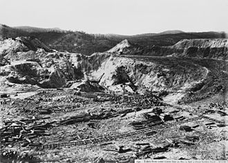 Mount Morgan Mine - Mount Morgan Mine, 1906