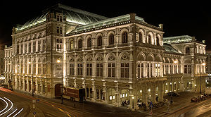 Vienna State Opera (backside), Austria