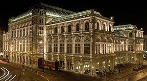 Austria, Vienna, Vienna State Opera Русский: А...