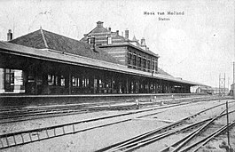 Station Hoek van Holland Haven; 1907.
