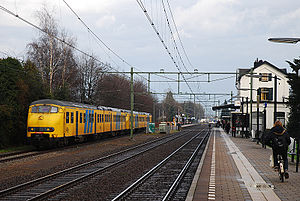 Oisterwijk railway station - Image: Station Oisterwijk