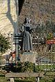 Statue of San Bernardino in Trevignano Romano.JPG