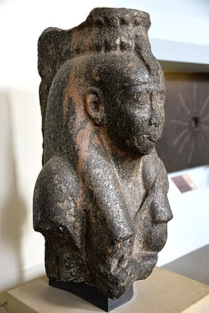 Amasis II - Statue of Tasherenese, mother of king Amasis II, 570-526 BCE, British Museum