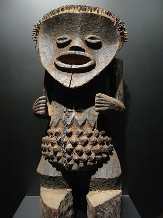 African art - Statuette; 19th-20th century; by Mambila people from Nigeria; Musée du quai Branly