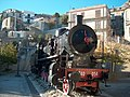 Steam locomotive - Bova - Province of Reggio Calabria, Italy - 12 Nov. 2006.jpg