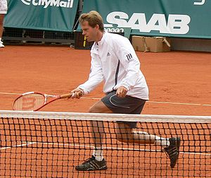 Stefan Edberg in Båstad, Sweden (July 2007)