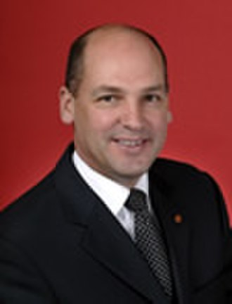 Manager of Opposition Business in the Senate - Image: Stephen Parry