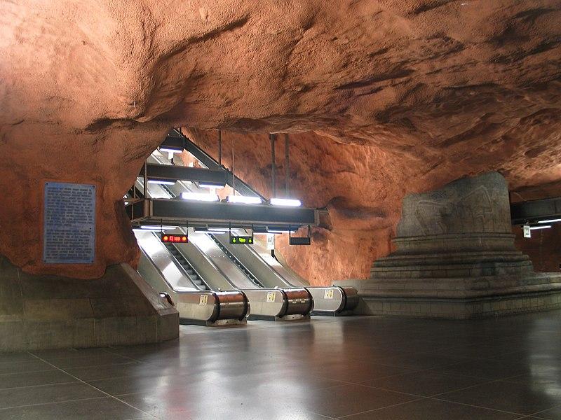 Estación de Metro Rådhuset