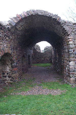 Stolpe Abbey - Ruins of Stolpe Abbey