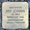 Stolperstein Gustav-Behringer-Str 10 Lehmann Max