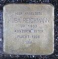 Stolperstein Behrenstr 55–57 (Mitte) Kuba Reichmann.jpg