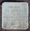 Stolperstein Joachim-Friedrich-Str 13 (Halsee) Ida Lindemann.jpg