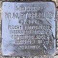 Stolperstein Königsberger Str 13 (Lichtf) Kurt Grelling.jpg