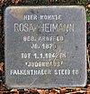 Stolperstein Markgrafenstr 64 (Frohn) Rosa Heimann.jpg