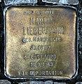 Stolperstein Pariser Platz 7 (Mitte) Martha Liebermann.jpg