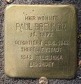 Stolperstein Perleberger Str 33 (Moabi) Paul Brenner.jpg