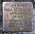 Stolperstein Potsdamer Str 29 (Zehld) Anna Heidtmann.jpg