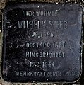 Stolperstein Solingen Merkurstr. 34a Wilhelm Steeg.jpg