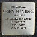 Stolperstein für Cesira della Torre (Rom).jpg