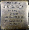 Stolpersteine Köln, Johanna Marx (Siegburger Straße 378).jpg