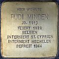 Stolpersteine Köln, Rudi Minden (Spichernstraße 57).jpg