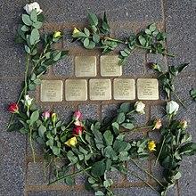 stolpersteine dresden karte Liste der Stolpersteine in Dresden – Wikipedia