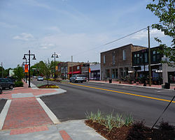 Main Street in Stone Mountain Village