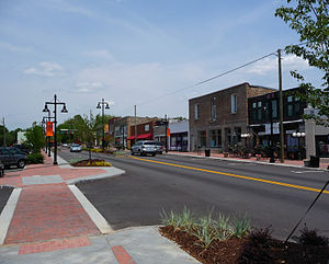 Stone Mountain, Georgia - Main Street in Stone Mountain Village