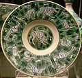 Stonepaste dish, Iznik, 16th Century - 24399629113.jpg