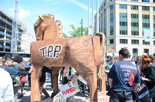Stop Fast Track rally in D.C.